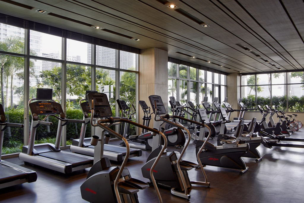 Gym at One Shangri-La Place