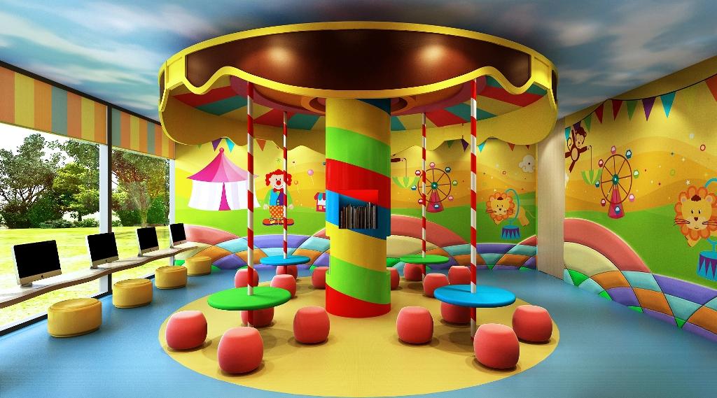 Kids Zone at The Rise Makati