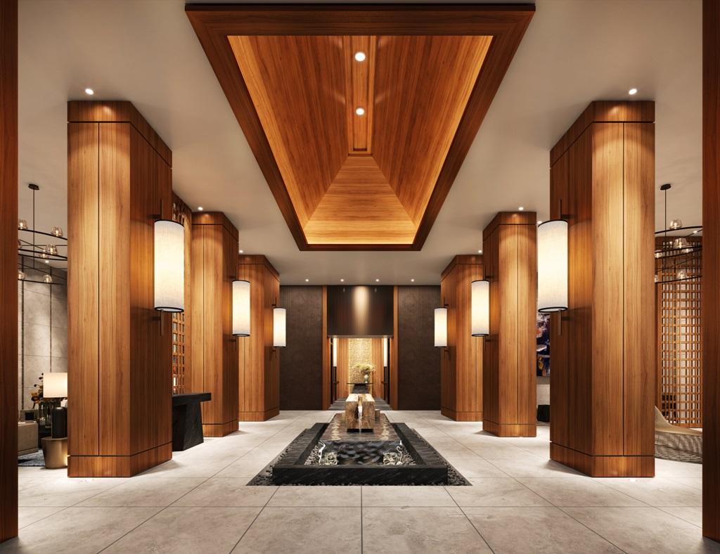 Main Lobby at Shang Residences at Wack Wack