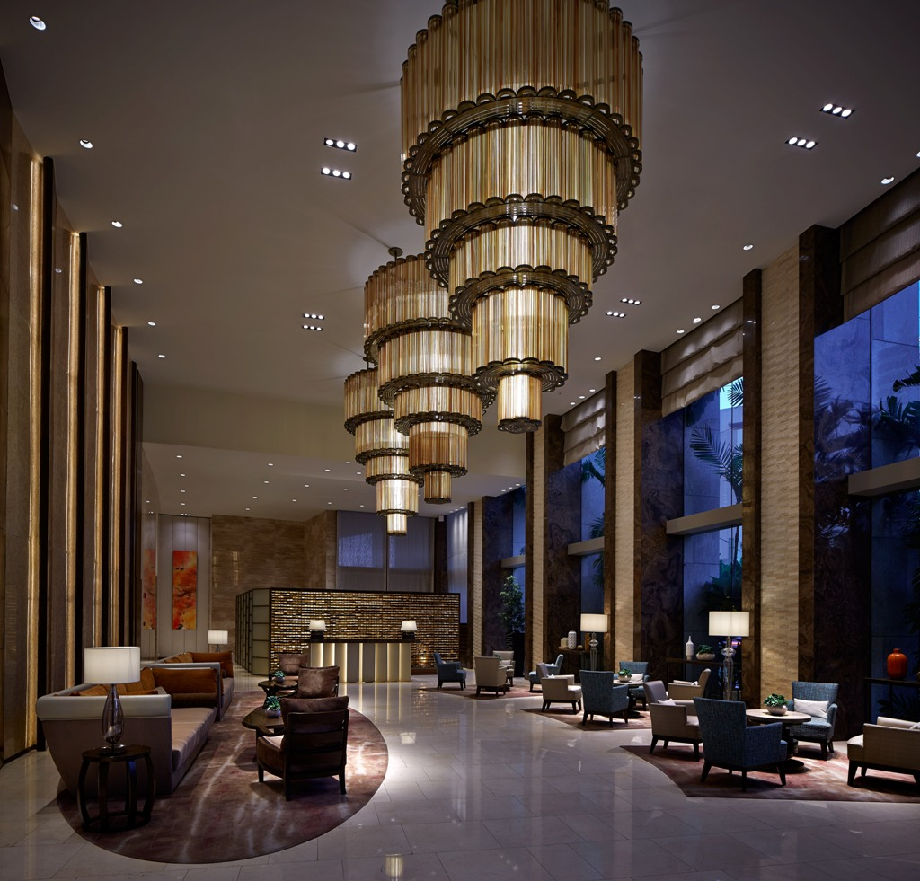 North Tower Lobby at One Shangri-La Place