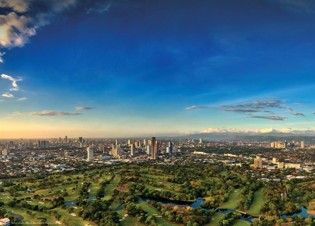 Skyline View of Shang Residences at Wack Wack